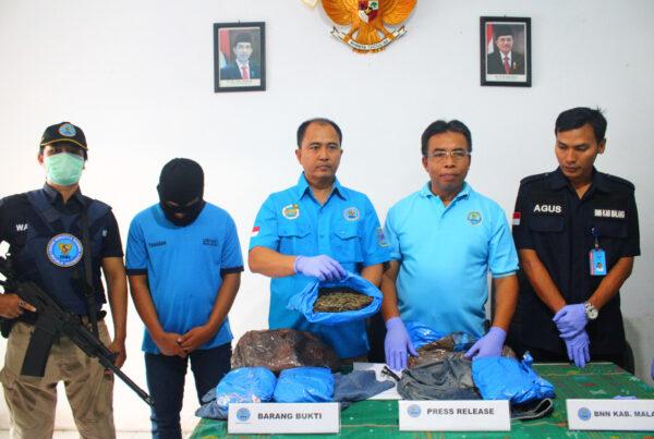 Press Rilis Ungkap Kasus Narkotika Ganja