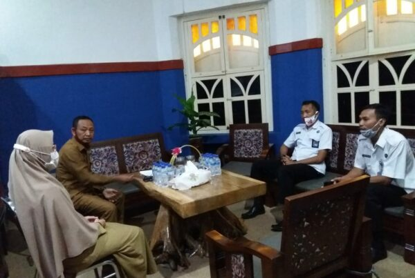 Koordinasi Pelaksanaan Inpres no.2 Tahun 2020 di Dinas Sosial Kabupaten Malang