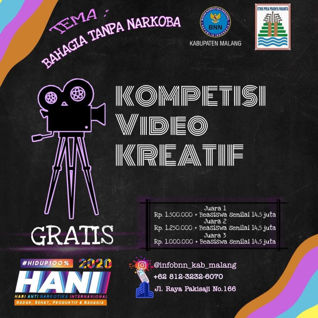 Kompetisi Video Kreatif dalam rangka HANI 2020
