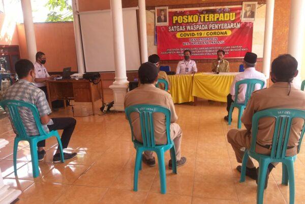 Rakor Rehabilitasi Berbasis Masyarakat Desa Patokpicis