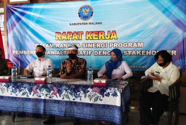 Rapat Kerja Sinergi Program Pemberdayaan Alternatif dengan Stakeholder