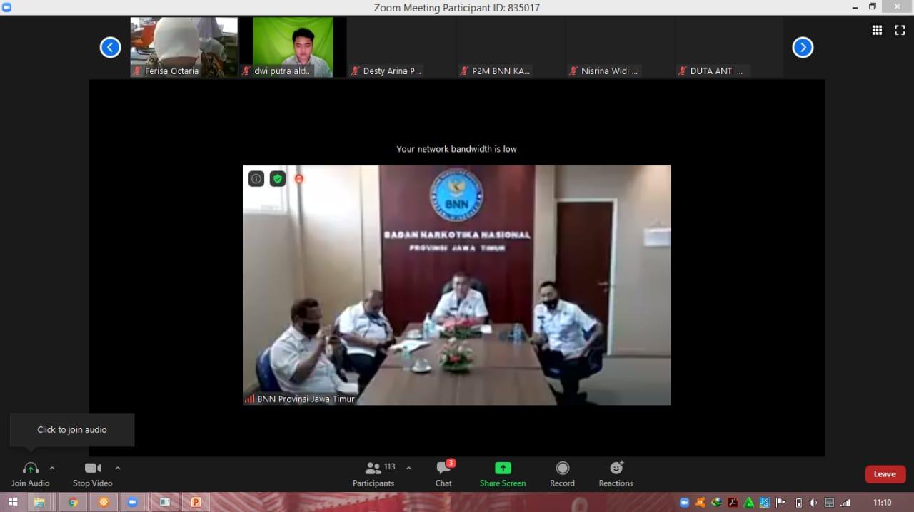 """Virtual Talkshow P4GN """"Hidup 100% Di Era New Normal"""