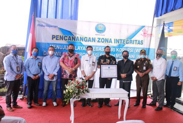 Deklarasi pencanangan Zona Integritas