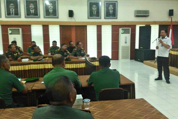 Kegiatan Sosialisasi P4GN pada Apel Danramil dan Babinsa Tersebar TA 2019 Kodim 0818/ Kab. Malang - Batu