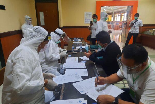 Tes Urine Pemilihan Kepala Daerah Tahun 2020 tahap II