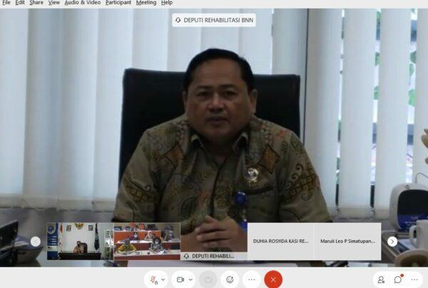 Rapat Koordinasi dan Sinergitas Program Rehabilitasi Tahun 2021