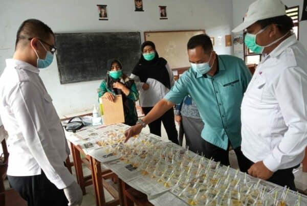 Tes urine SMA Jenderal Sudirman
