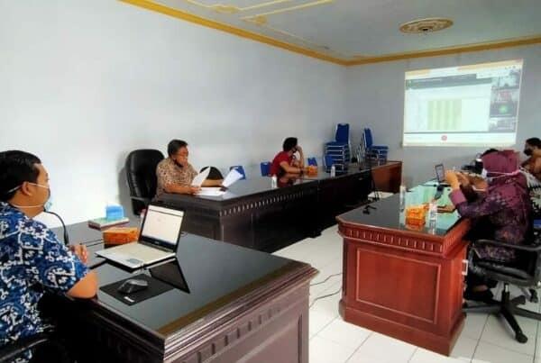 Virtual Meeting Penyusunan LKIP seluruh jajaran BNNP Jatim