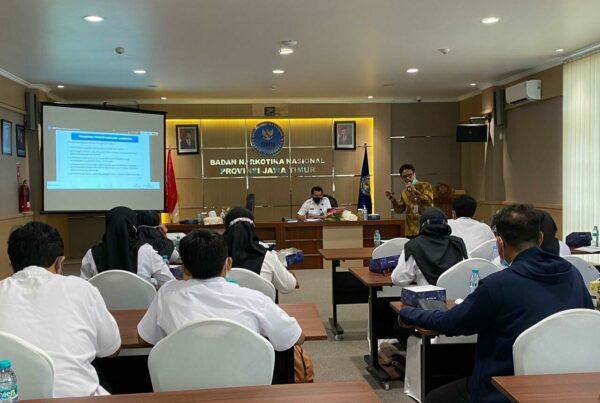 Sosialisasi Jabatan Fungsional di Lingkungan BNNP Jatim dan jajaran