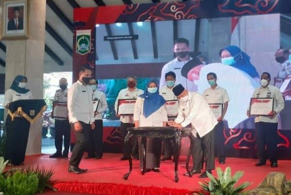 Pencanangan Zona Integritas Pemerintah Kabupaten Malang