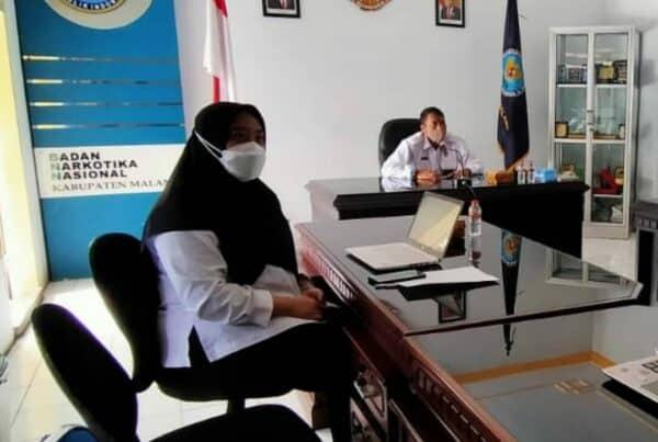 Rapat Teknis Terkait Perjanjian Kinerja Tahun 2021 Bersama BNN RI Dan Jajaran
