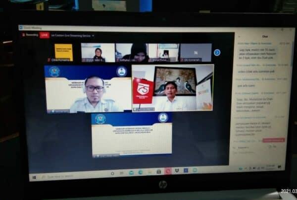 Virtual Meeting Interaksi Sosial Menuju Organisasi Berbudaya Melalui Senyum, Sapa dan Salam