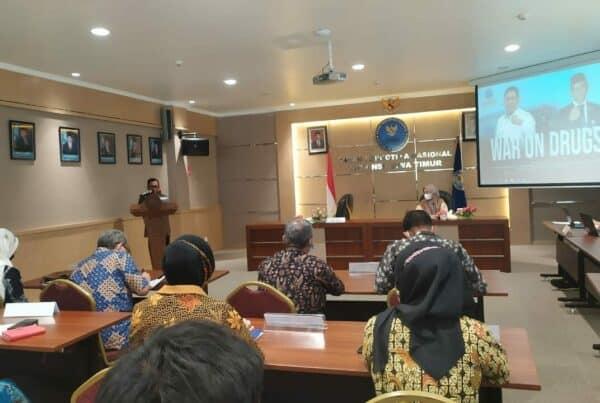 Taklimat Akhir Audit BNNP Jawa Timur dan Jajaran