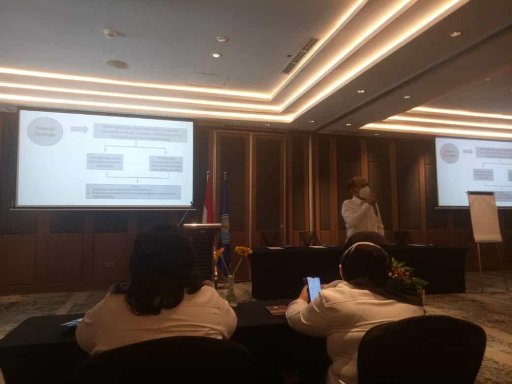 Rapat Kerja Bidang Rehabilitasi Tingkat Provinsi