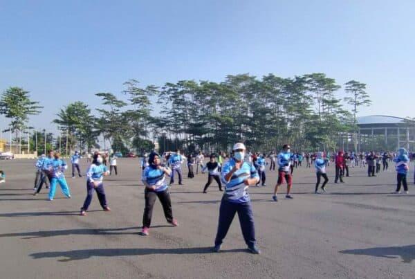 Olahraga Bersama dalam rangka Pra HANI